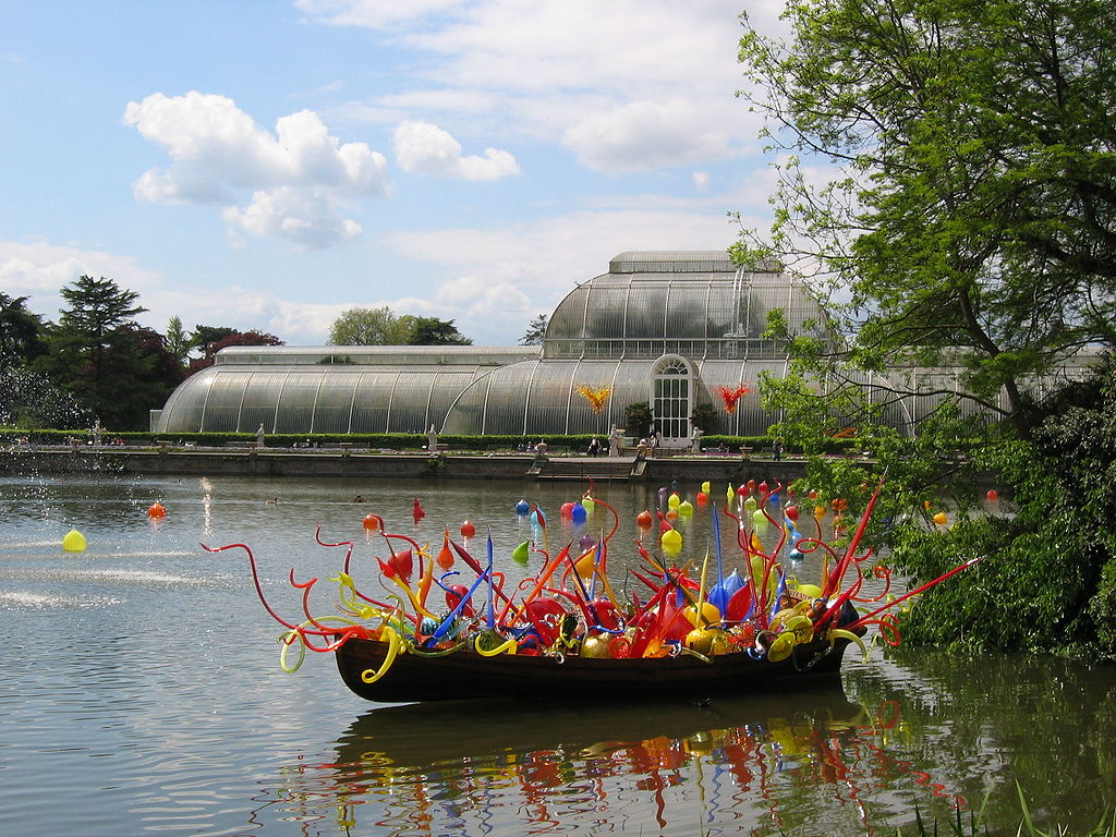 Chihuly at Kew Gardens | © Patche99z/WikiCommons