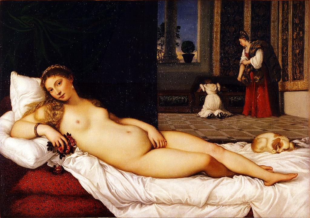 Titian, Venus of Urbino, 1538 | © Uffizi Gallery/WikiCommons