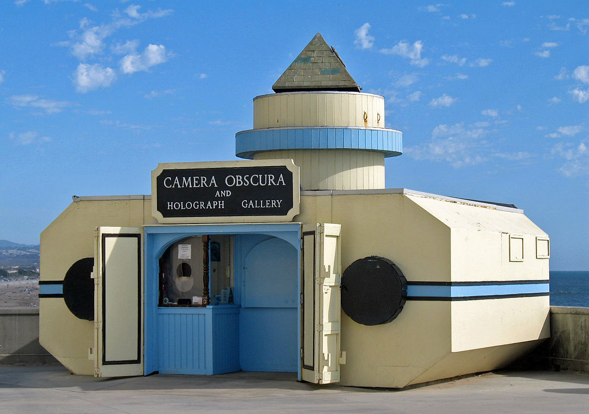 San Francisco's Camera Obscura © Sanfranman59/Wikipedia