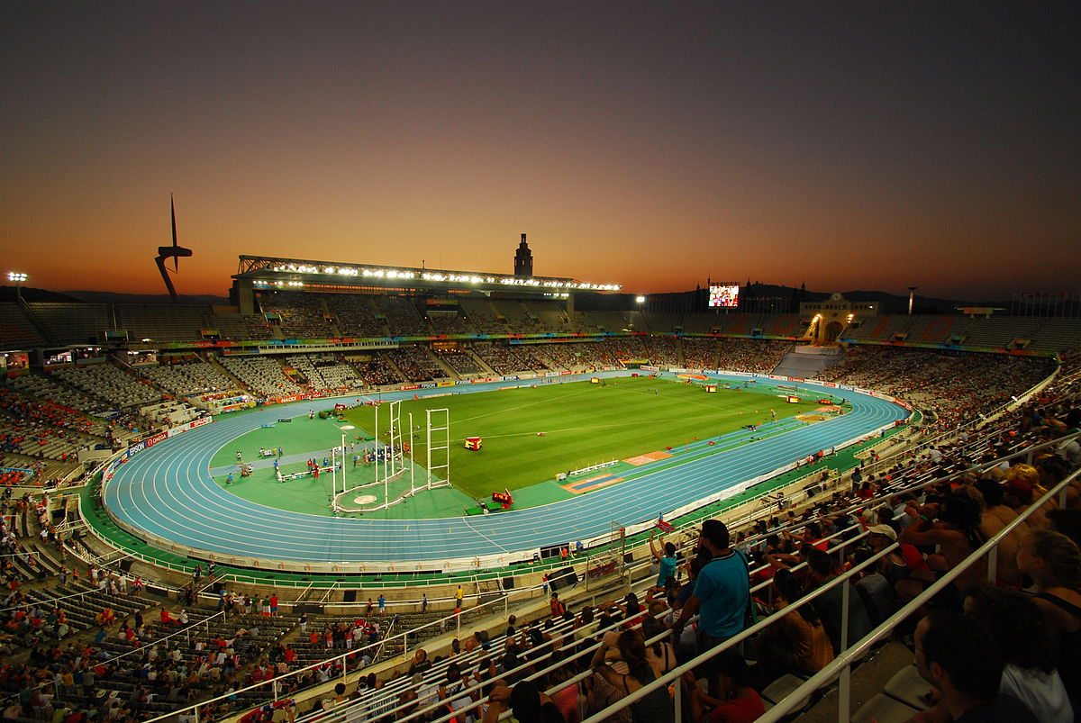 The Lluís Companys Olympic Stadium in 2010 | © Sprok / WikiCommons
