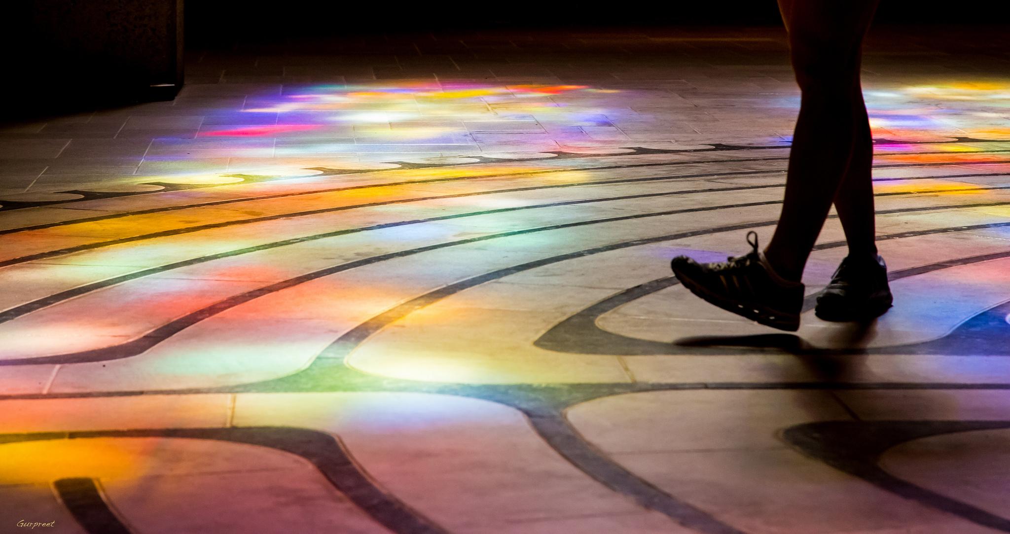 Indoor labyrinth © GPS/Flickr