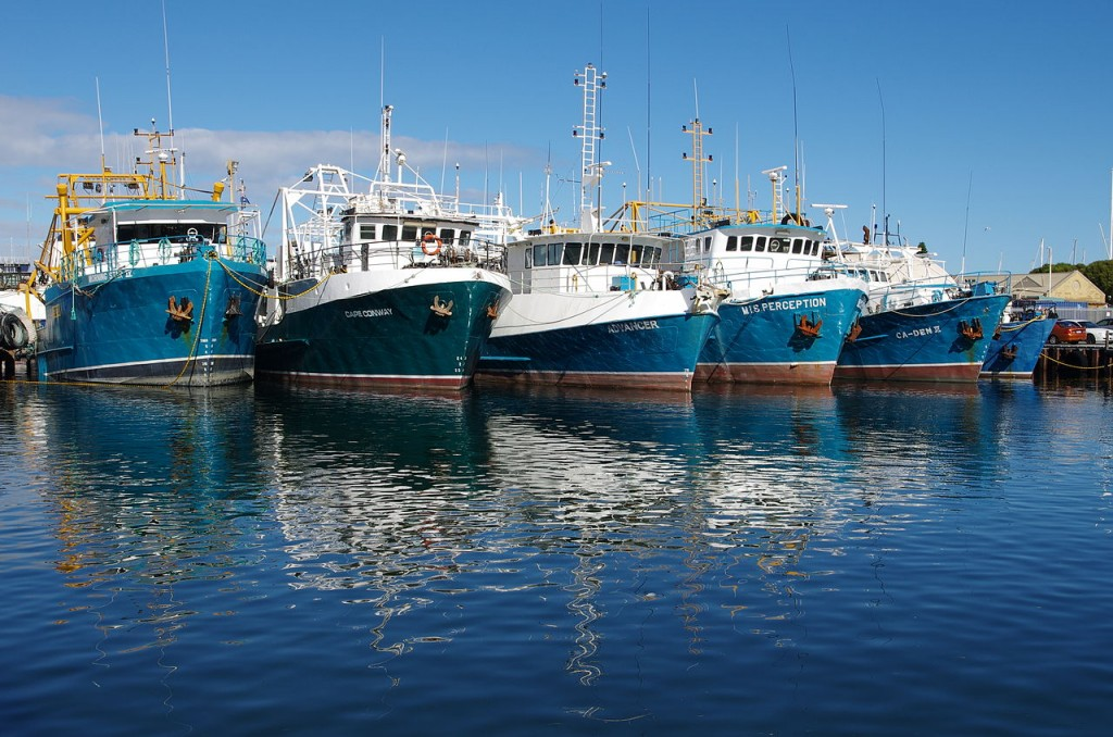 Fremantle Fishing Boat Harbour | © Gnangarra / WikiCommons