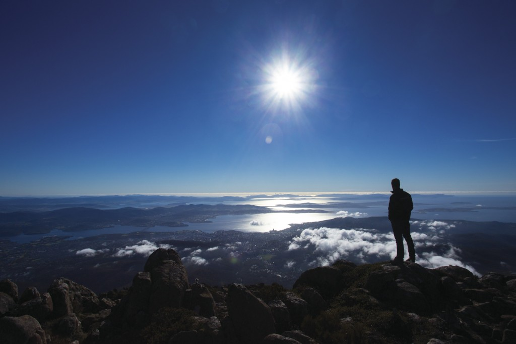 Mount Wellington, Hobart, TAS   Courtesy of Tourism Australia © Graham Freeman