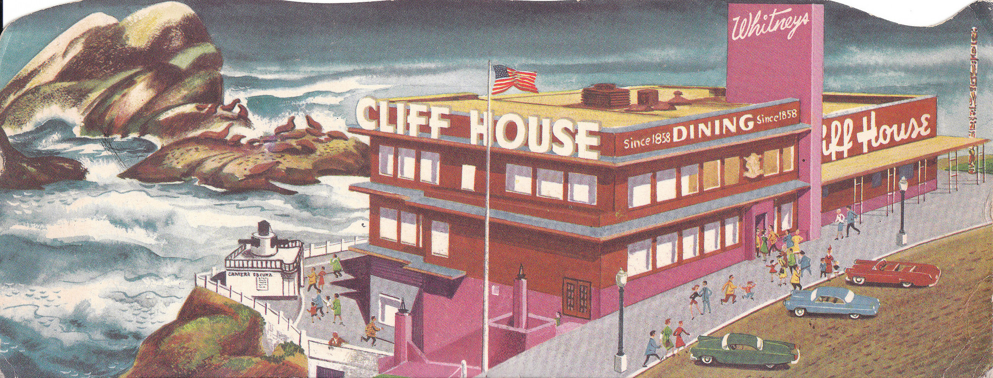 Cliff House and Seal Rocks © Ed Bierman/Flickr