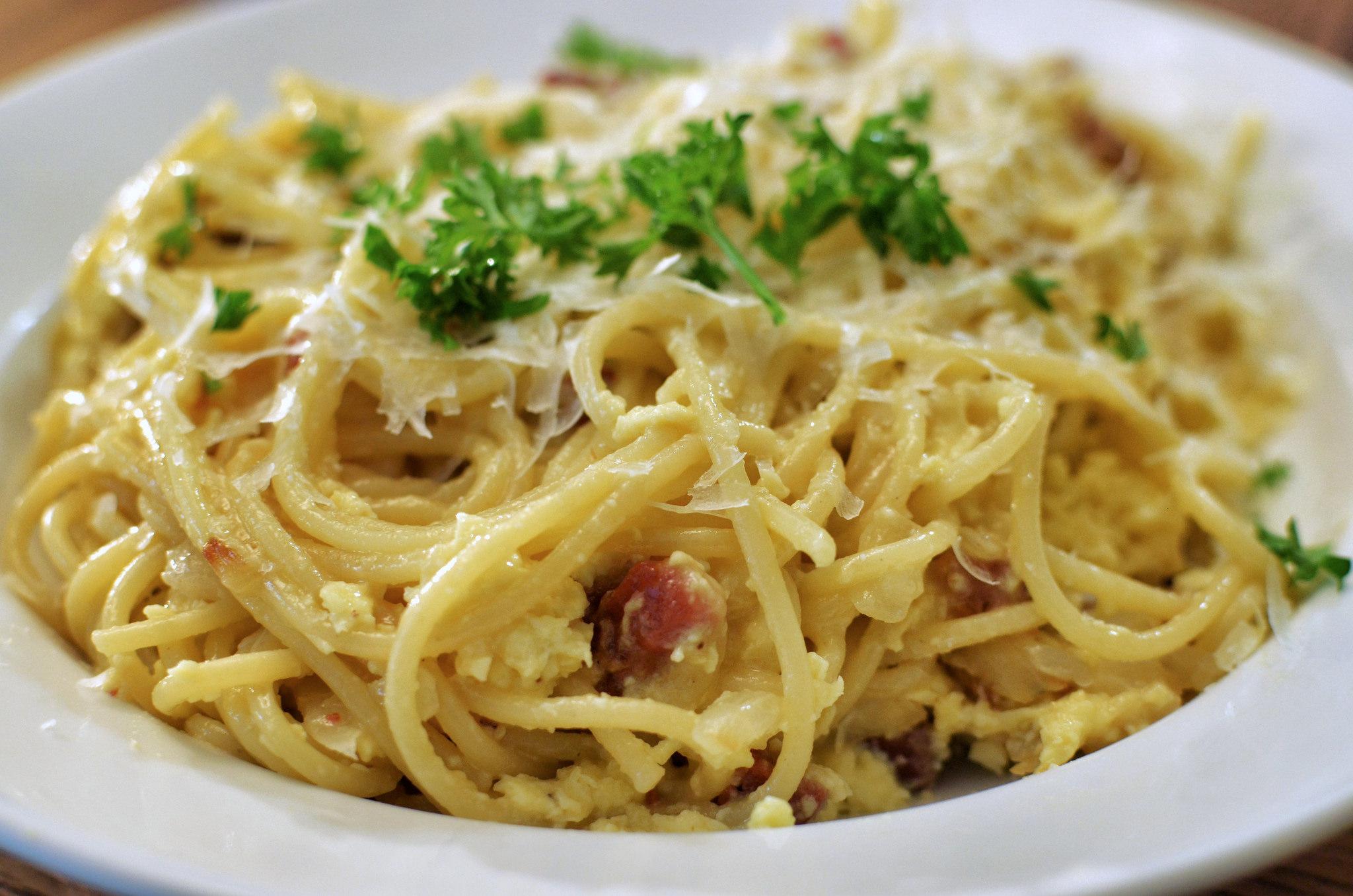 Mmm... spaghetti carbonara | © Jeffreyw/Flickr
