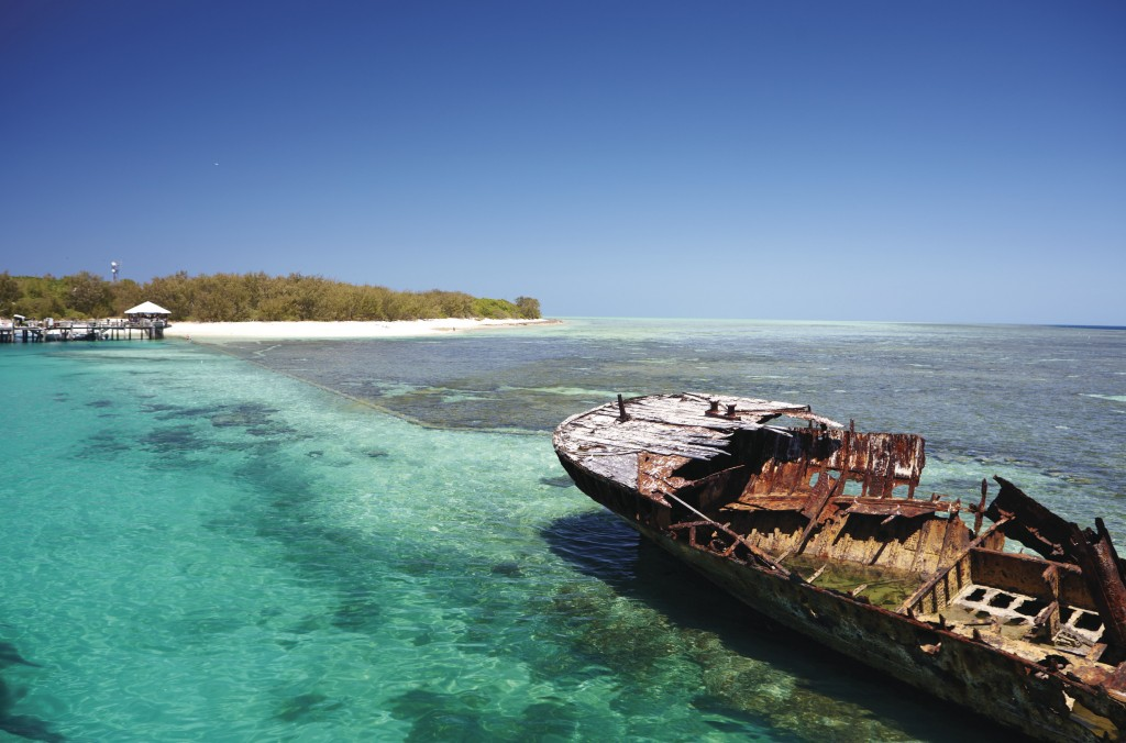 Heron Island Great Barrier Reef Qld Courtesy Of Tourism Australia Maxime Coquard
