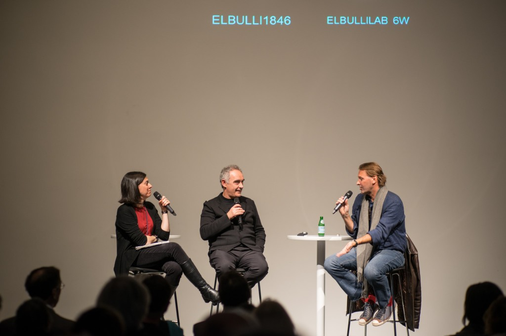 Ferran Adrià at a conference at the Cleveland Museum of Contemporary Art   © Edsel Little/Flickr