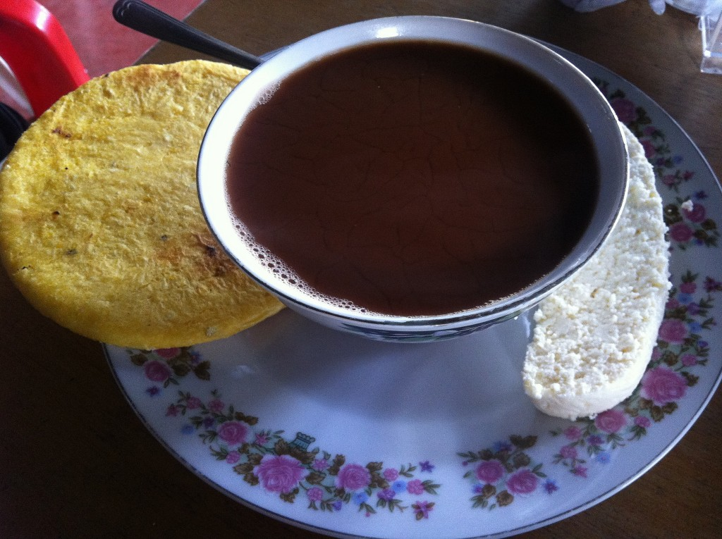 Colombian classic: hot chocolate ©Quinn Comendant