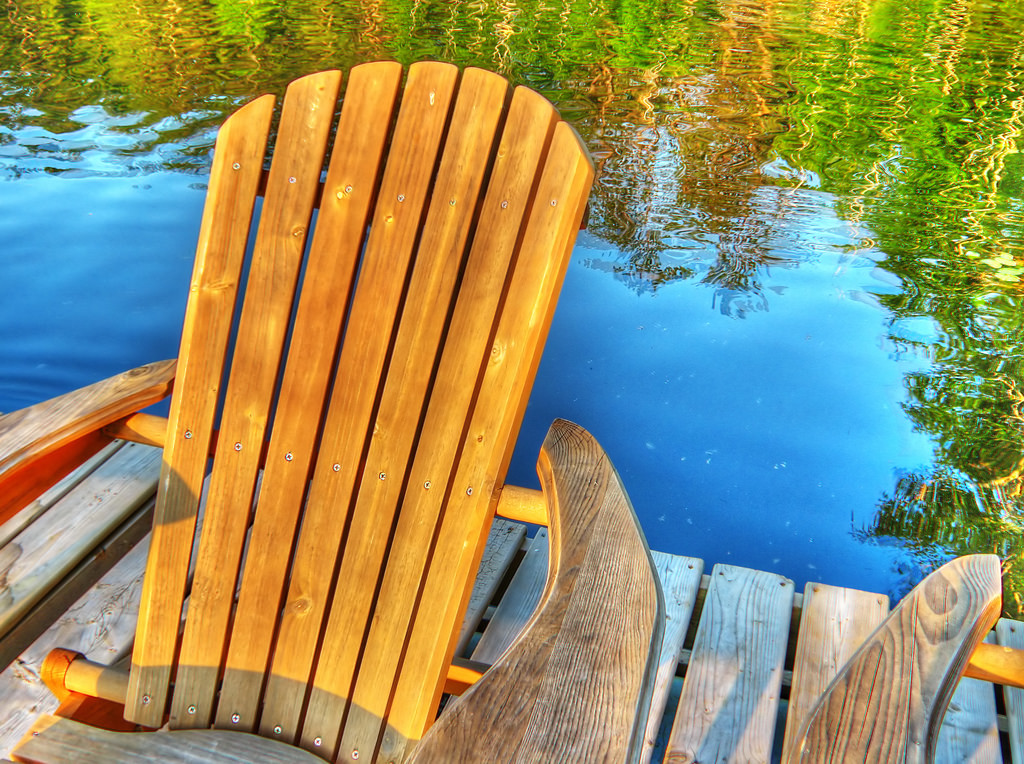 Muskoka Chair | © Rick Harris/Flickr