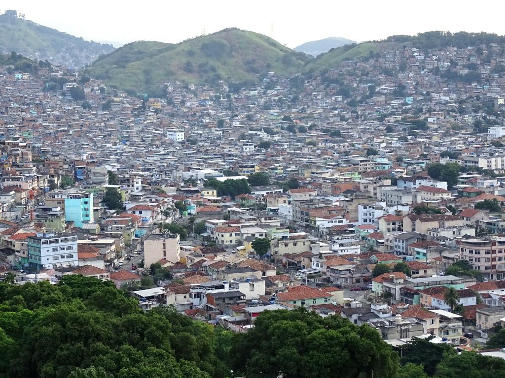 Ariel view over Complexo do Alemao |© Adam Jones/Flickr