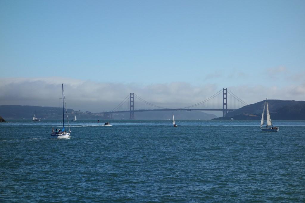 View of the Golden Gate Bridge from Tiburon © Olivier Bruchez/Flickr