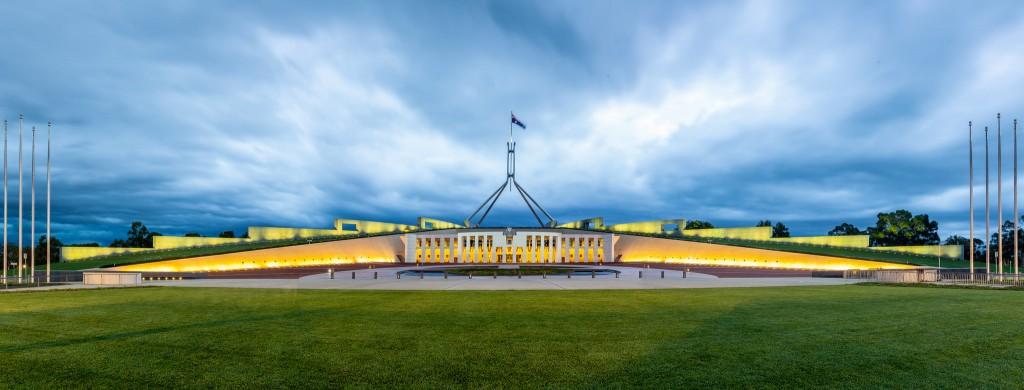 Parliament House, Canberra, ACT | © russellstreet / Flickr