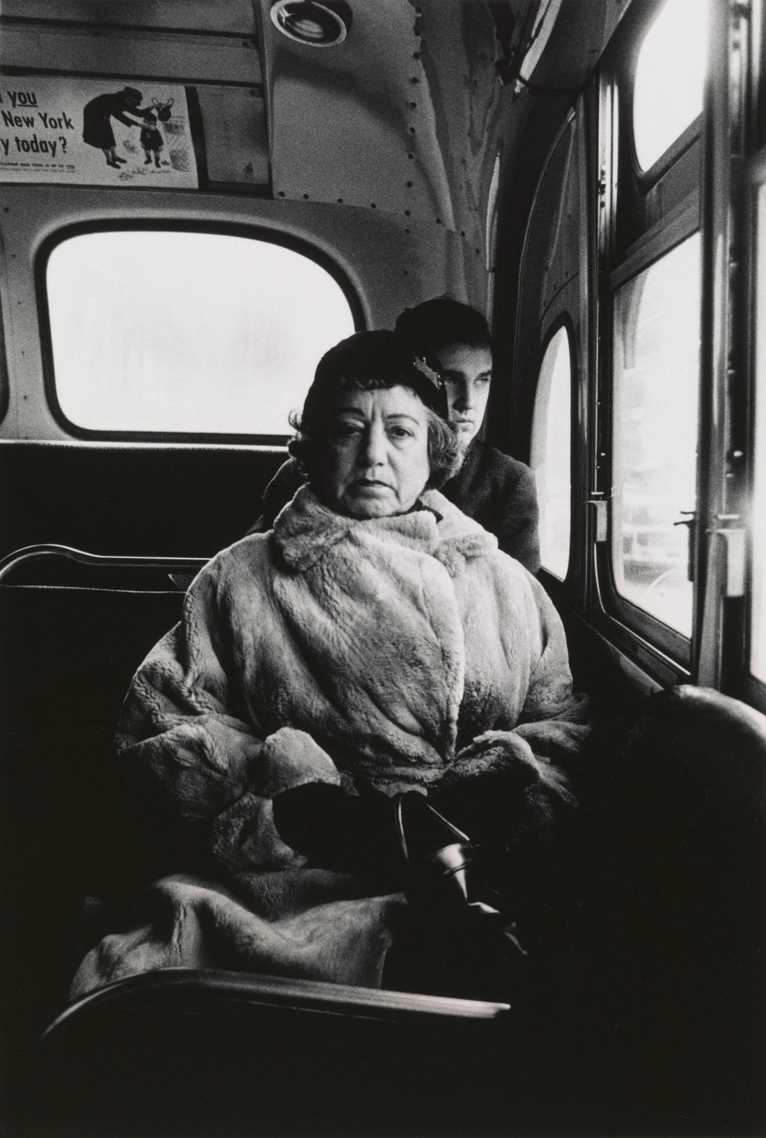 Lady on a bus, N.Y.C. 1957 © The Estate of Diane Arbus, LLC. All Rights Reserved