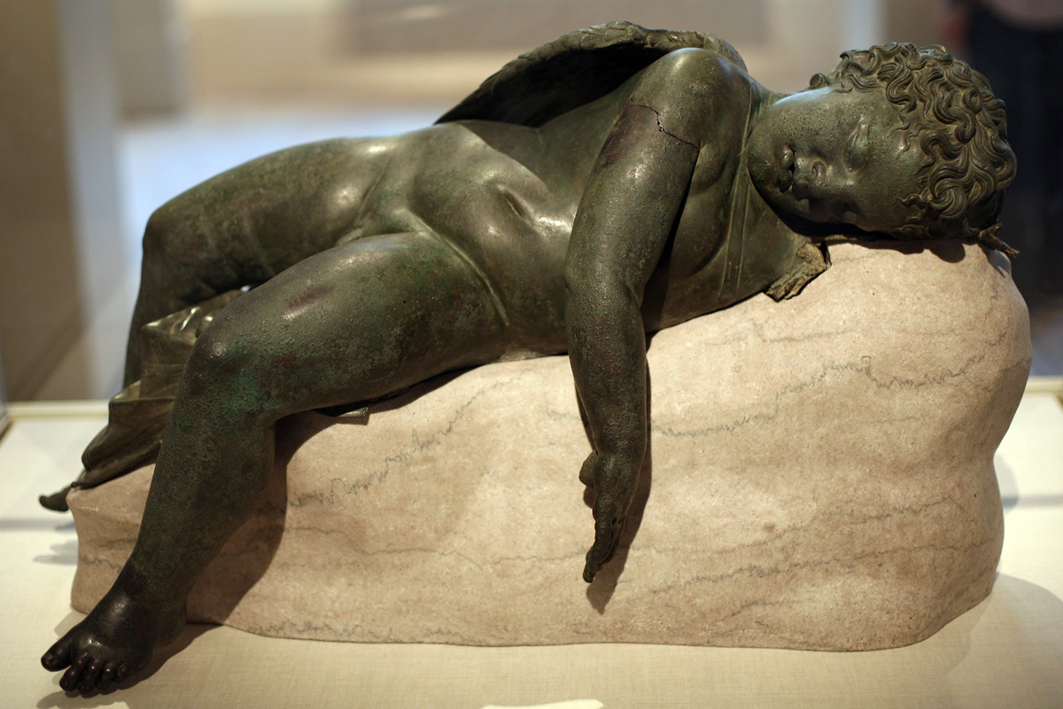 Bronze Statue of Eros Sleeping, 3rd-2nd century BC | © Katie Chao/Flickr