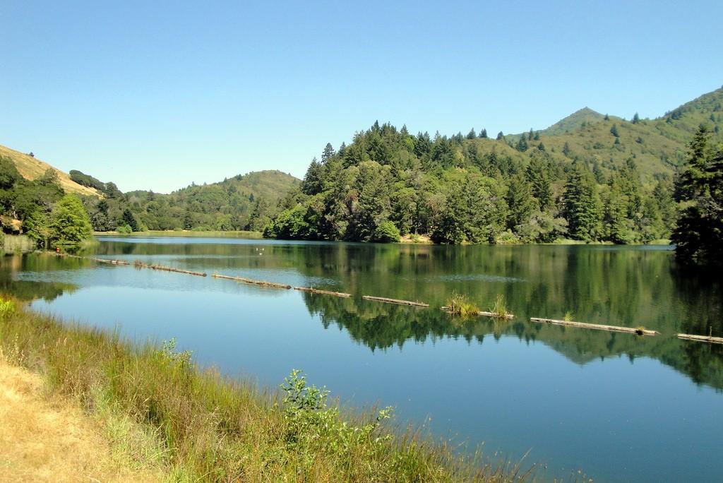 The view of Lake Lagunitas © Don DeBold/Flickr