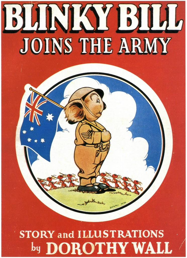 Blinky Bill Joins The Army | © Paul K / Flickr