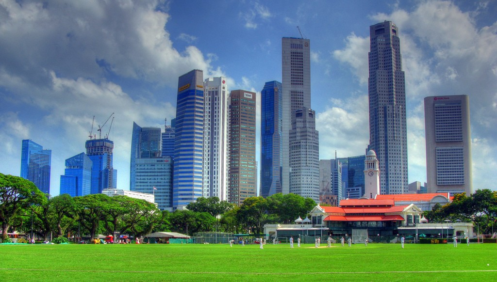 Padang, Singapore © Robert Lowe/Flickr