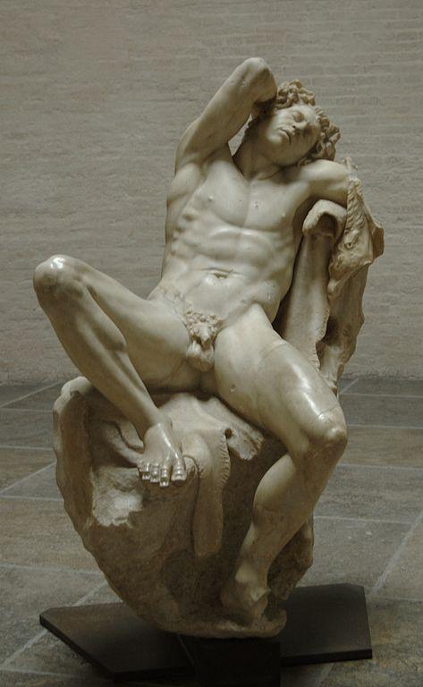 Barberini Faun, 230-200 BC   © Bibi Saint-Pol/WikiCommons