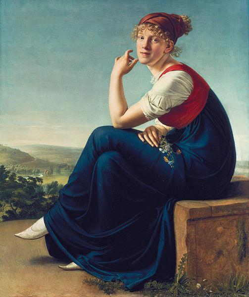 'Portrait of Heinrike Dannecker'   © DcoetzeeBot (talk   contribs)/WikiCommons