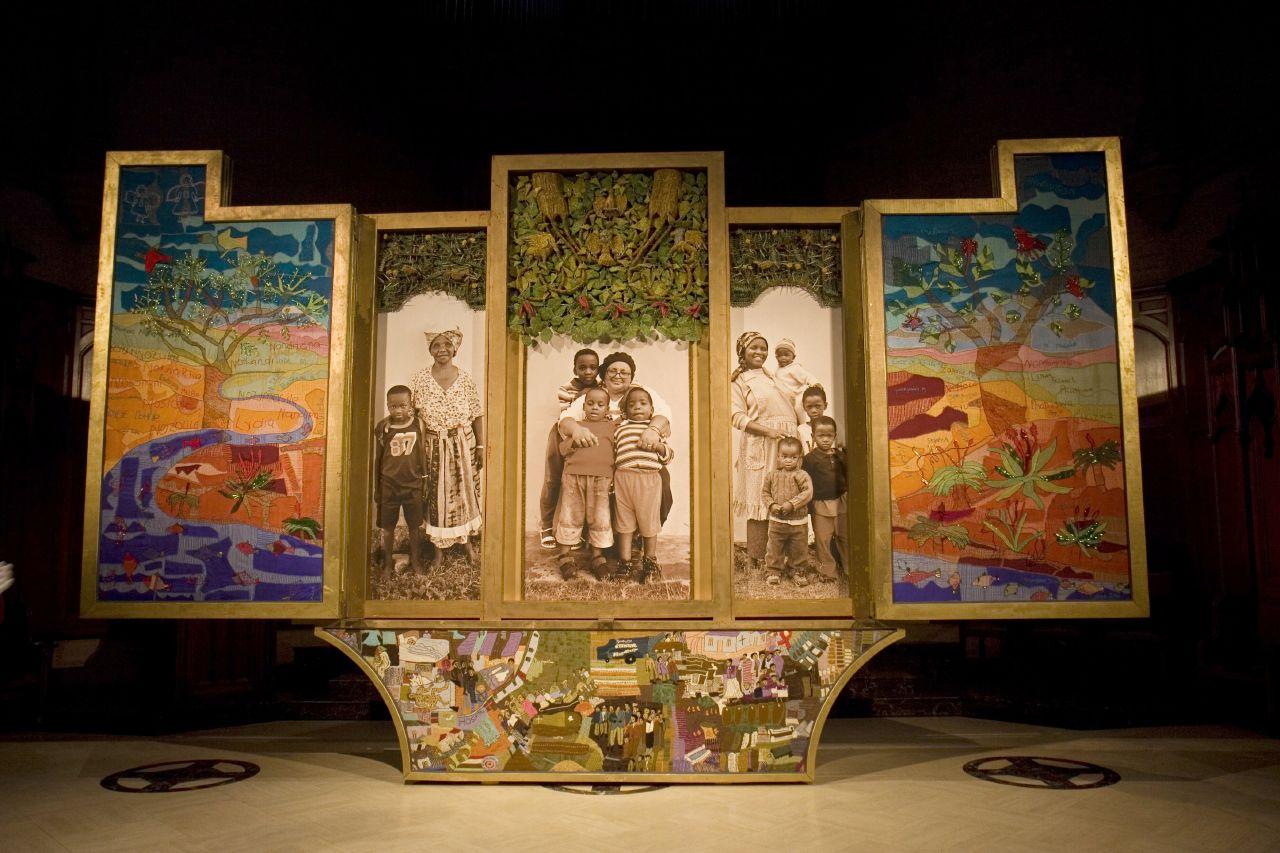 The Keiskamma Altarpiece in the AIDS Interfaith Memorial Chapel © SF Brit/Flickr