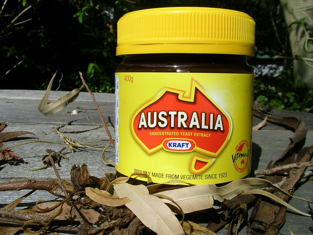 Vegemite changed its name to commemorate Australia Day | © Vincent Brown / Flickr