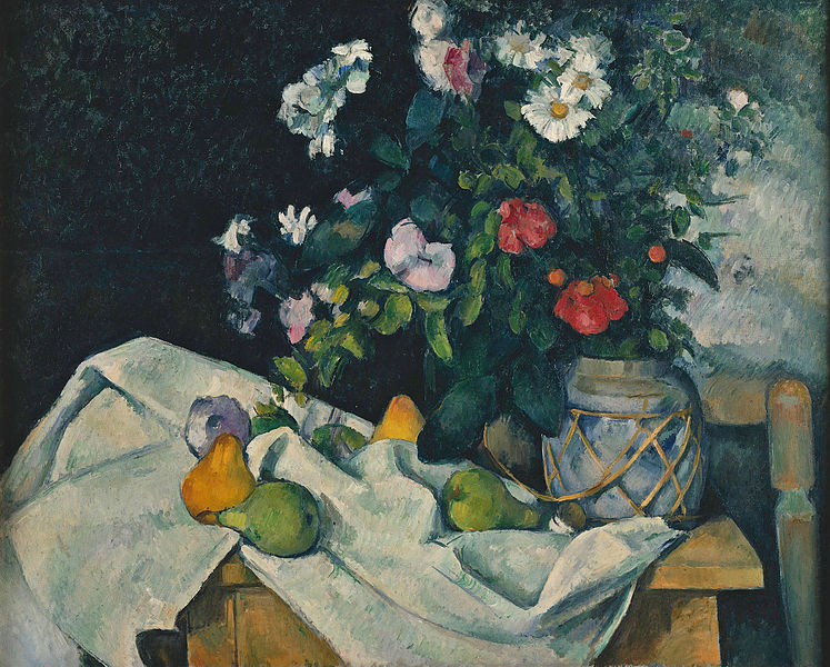 Cézanne's 'Still Life with Flowers and Fruit'   © Dcoetzee (talk   contribs)/WikiCommons