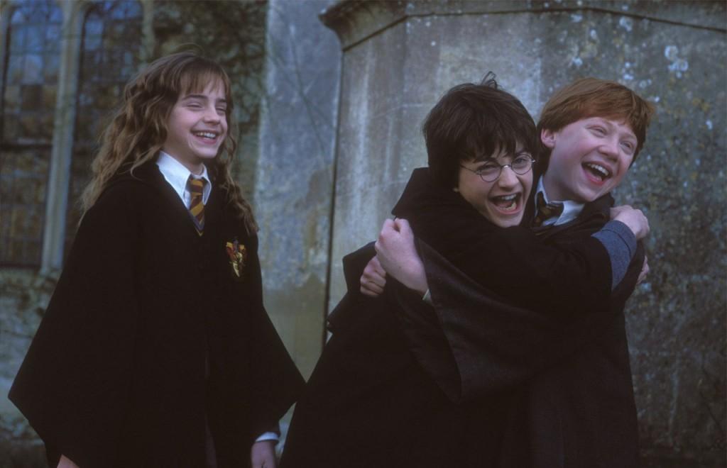 Hermione, Harry & Ron | © Warner Bros.