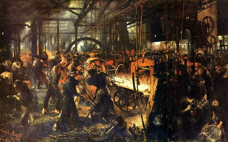 'Iron Rolling Mill'   © Tachymètre (talk   contribs)/WikiCommons