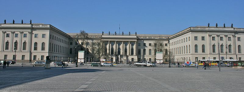 Humboldt University | © Mike Peel /WikiCommons