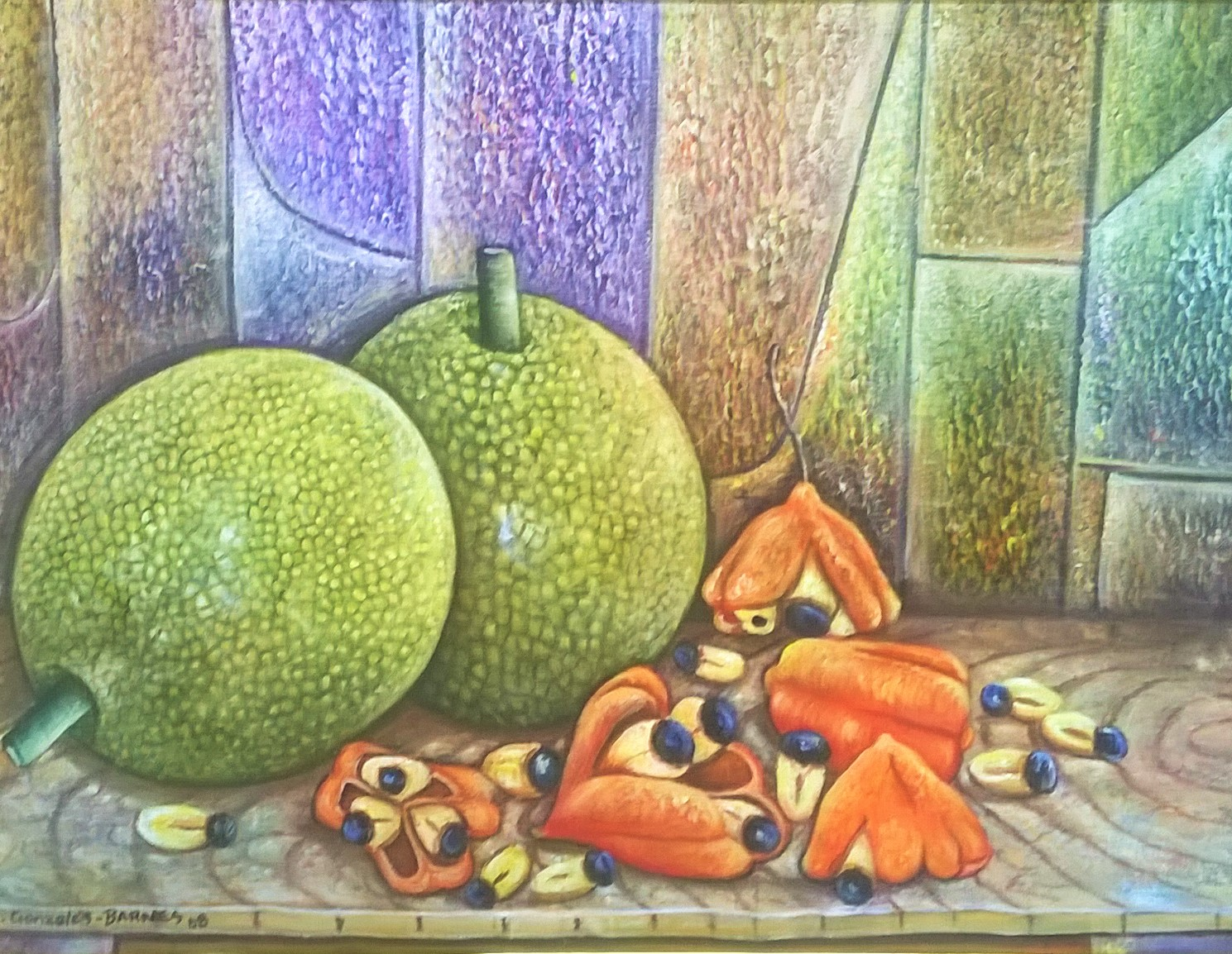 Ackee and Breadfruit|Courtesy of Creative Framing & Art Gallery