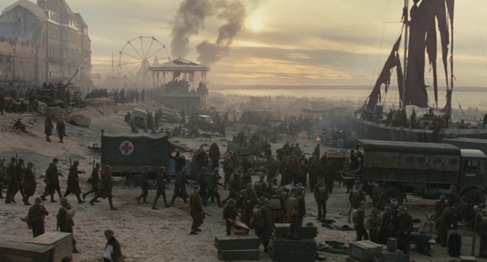Dunkirk beach in Atonement, dir. Joe Wright|© StudioCanal, Working Title Film and Relativity Media/Film-Grab.com