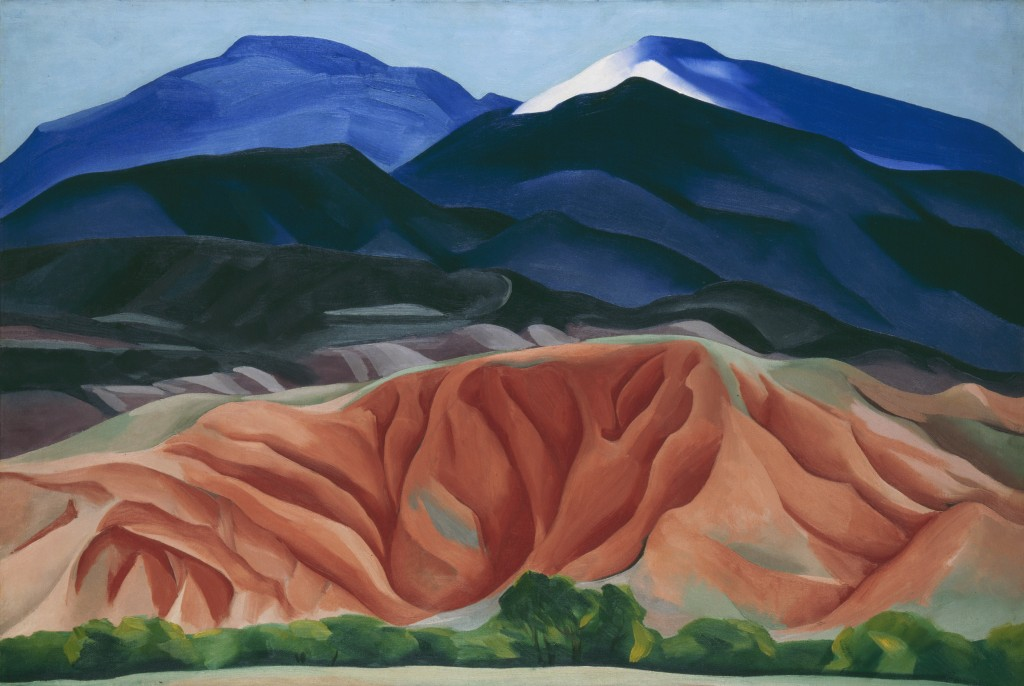 Black Mesa Landscape, New Mexico / Out Back of Marie's II, 1930, Georgia O'Keeffe Museum. Gift of The Burnett Foundation|©Georgia O'Keeffe Museum