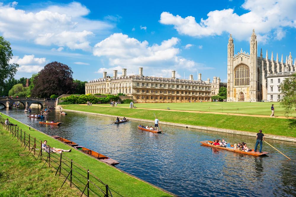 Cambridge University  © Premier Photo /Shutterstock
