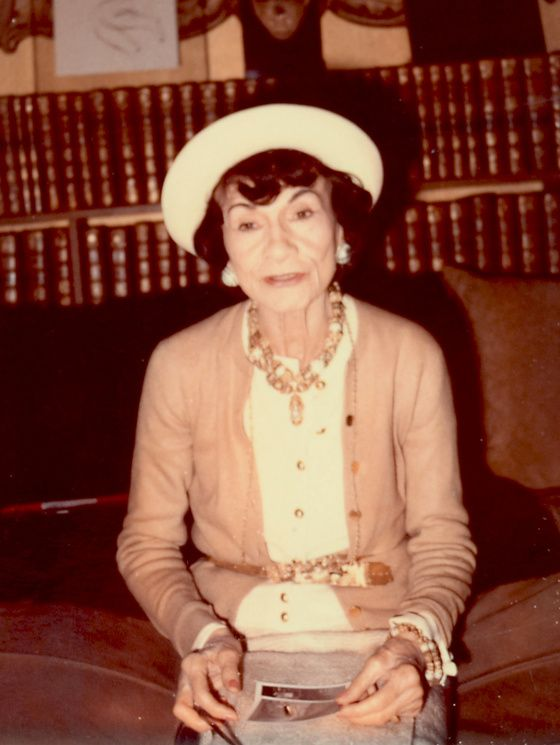 Coco Chanel, 1970 wiki/commons