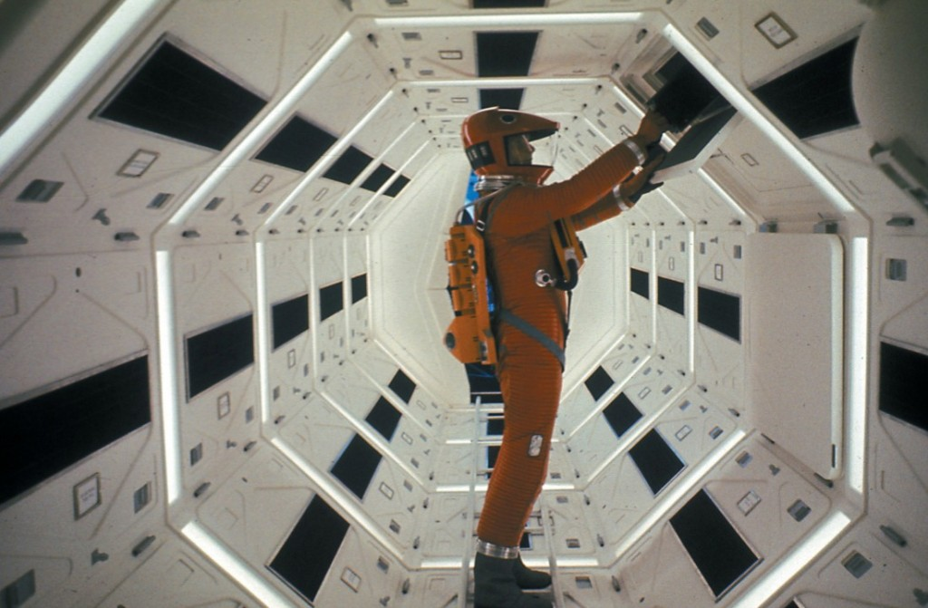 """Stanley Kubrick's 2001: A SPACE ODYSSEY (1968), screening in 70mm as part of the series """"See It Big! The 70mm Show"""" at Museum of the Moving Image. Credit: Warner Bros."""