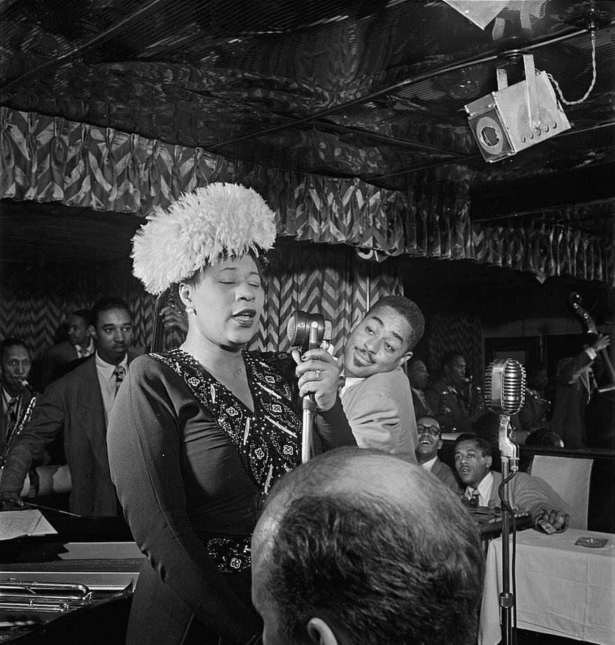 Ella Fitzgerald © William Gottlieb/ WikiCommons