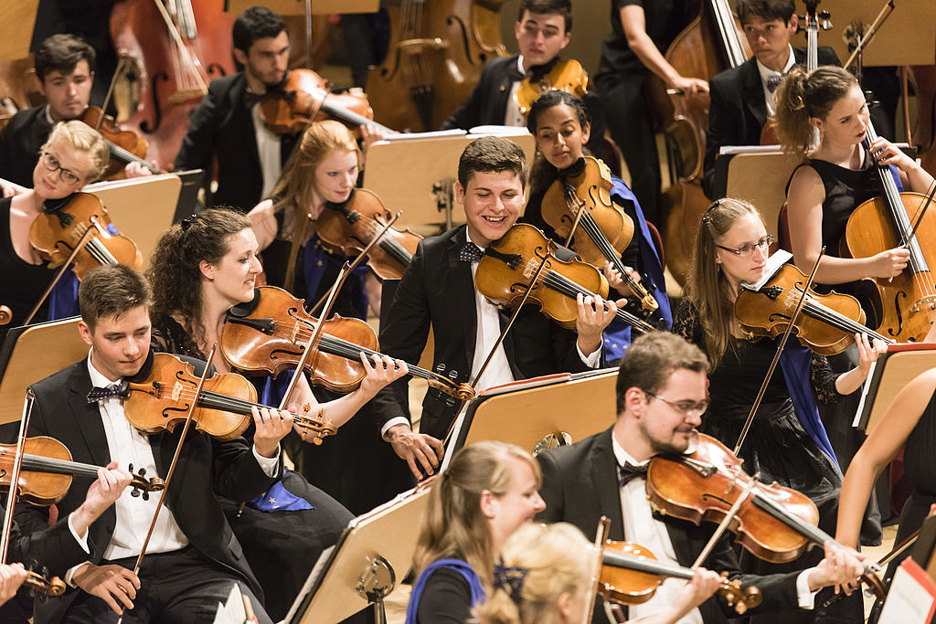 The European Union Youth Orchestra at the Young Euro Classic | © Euyo editor/WikiCommons