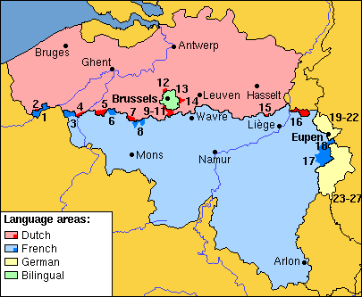 The language border | © Gpvos/Wikimedia Commons