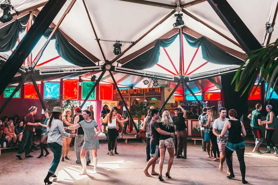 Global Village Square Dance | © Claudia Ciapocha