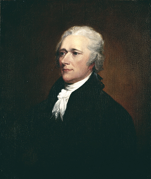 John Trumbull Alexander Hamilton After 1804 Oil On Canvas 30