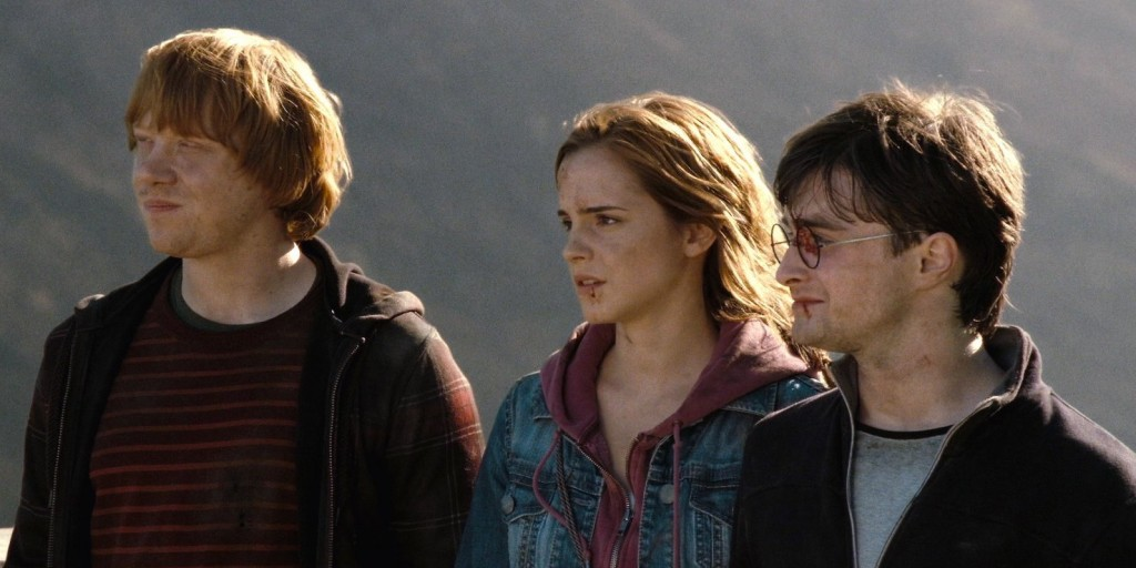 Ron, Hermione and Harry | © Warner Bros.