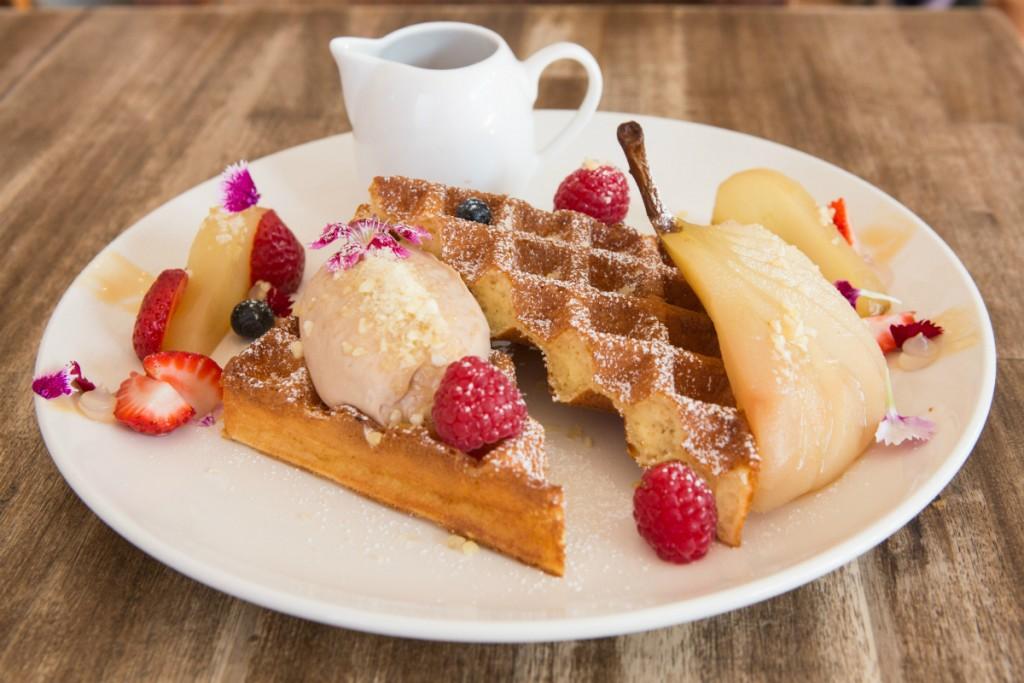 Waffles | Courtesy of Harvest Espresso