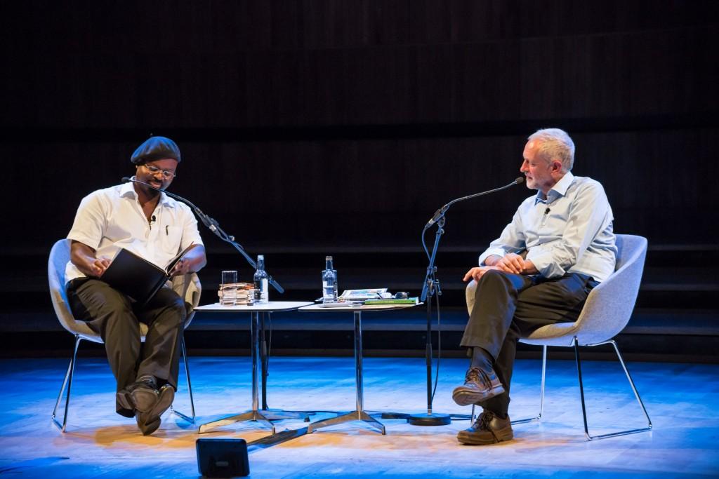 Ben Okri reads his poem 'A New Dream of Politics'  ©Adam Weatherley/Southbank Centre