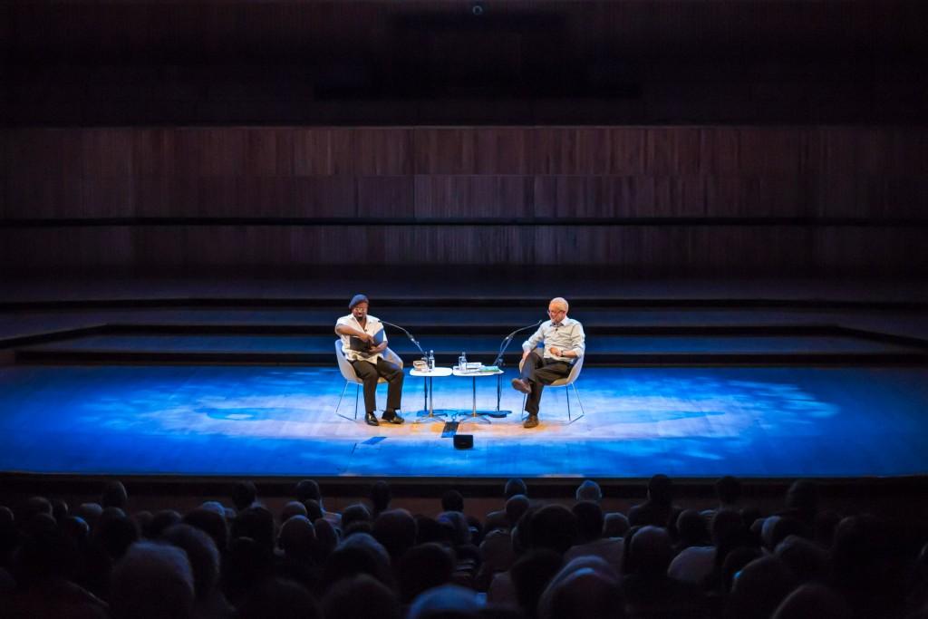 Ben Okri gives a reading ©Adam Weatherley/Southbank Centre