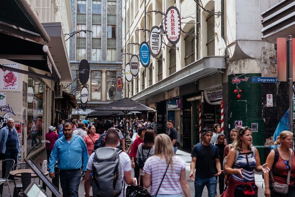 The History Of Melbourne S Degraves Street In 1 Minute