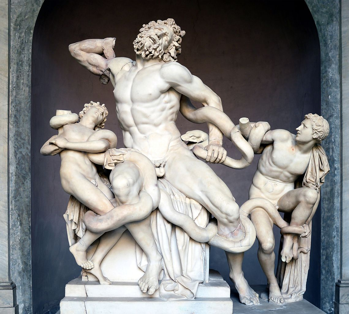 Athanadoros, Hagesandros, and Polypros of Rhodes, Laocoön | © Vatican Museum