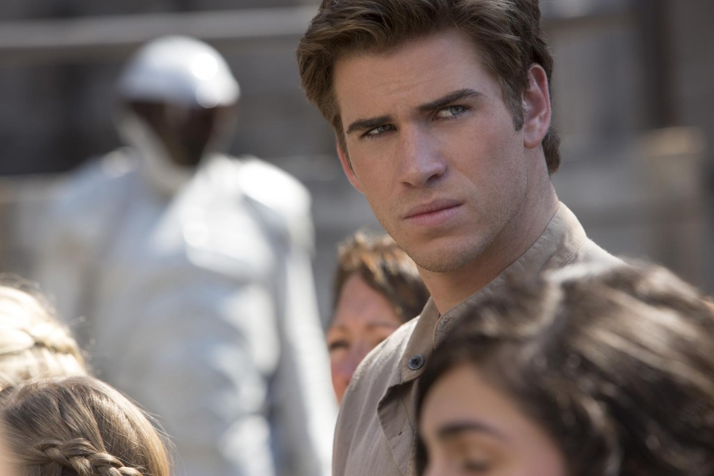 Liam Hemsworth in The Hunger Games   © Lionsgate
