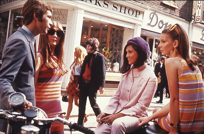 Carnaby Stree, at the height of Swinging London, 1969|©The National Archives/Wikicommons