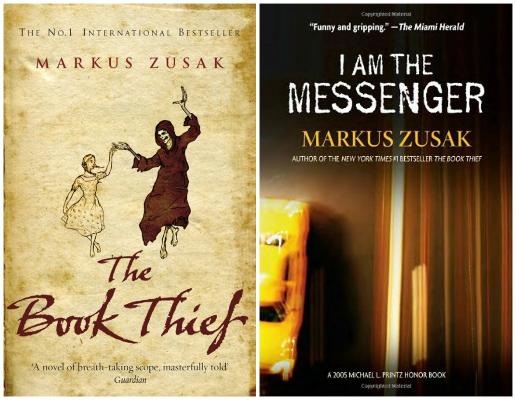 The Book Thief | © Black Swan // I Am The Messenger | © Random House USA Children's Books