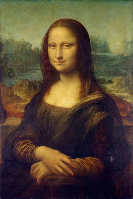 Leonardo da Vinci, Mona Lisa, 1503-04 | ©Louvre Museum/WikiCommons